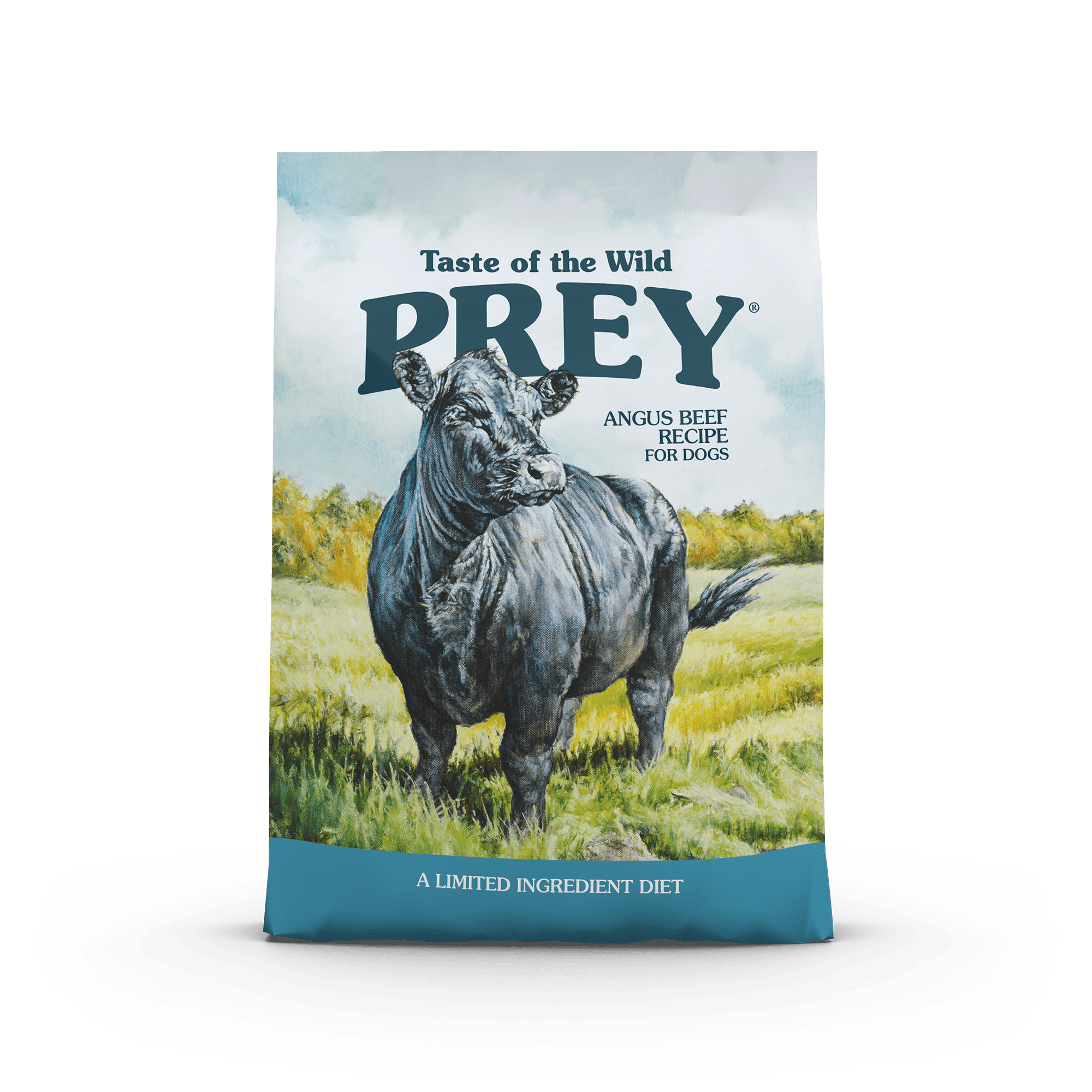 PREY Angus Beef Limited Ingredient Formula for Dogs bag front