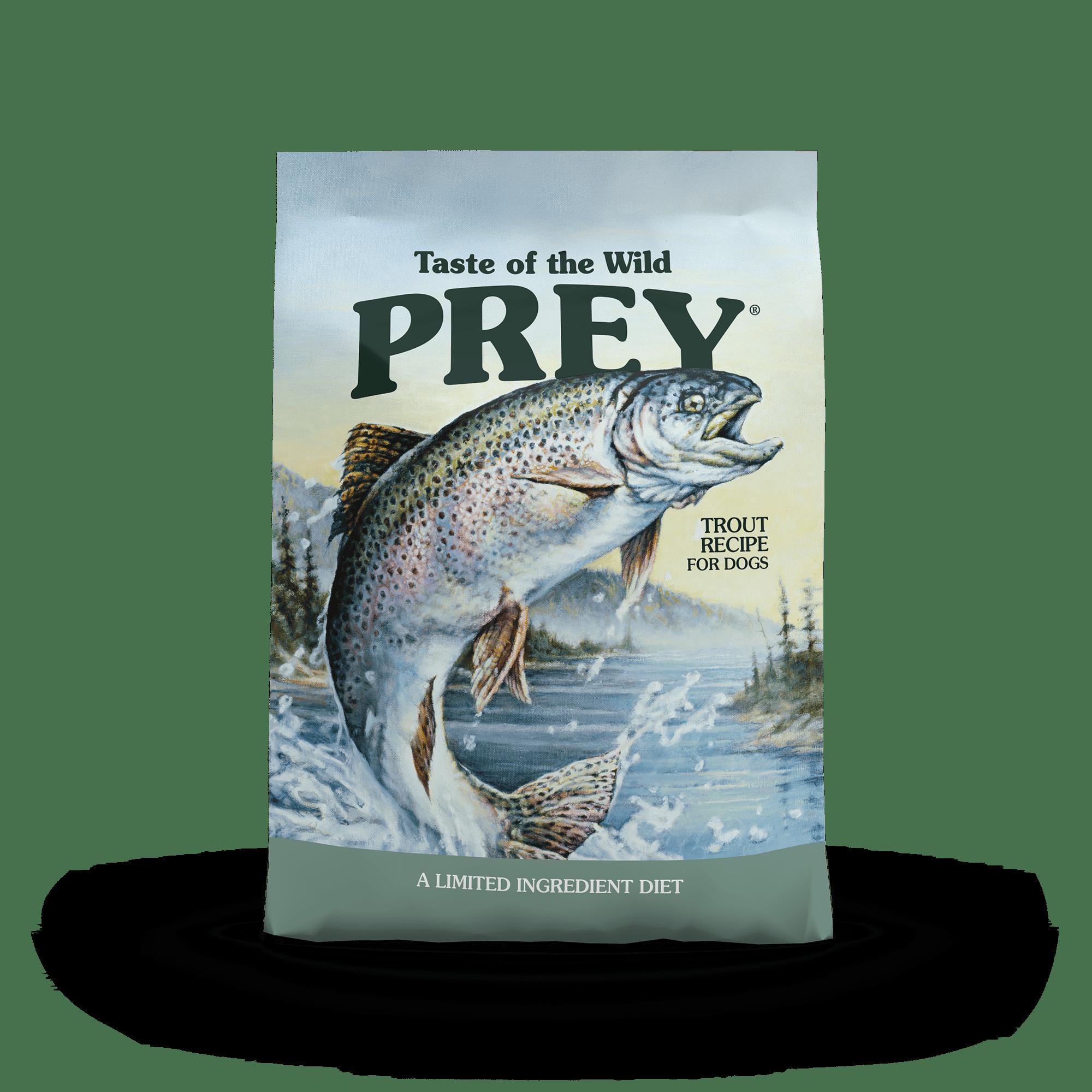 PREY Limited Ingredient  Trout Limited Ingredient Recipe