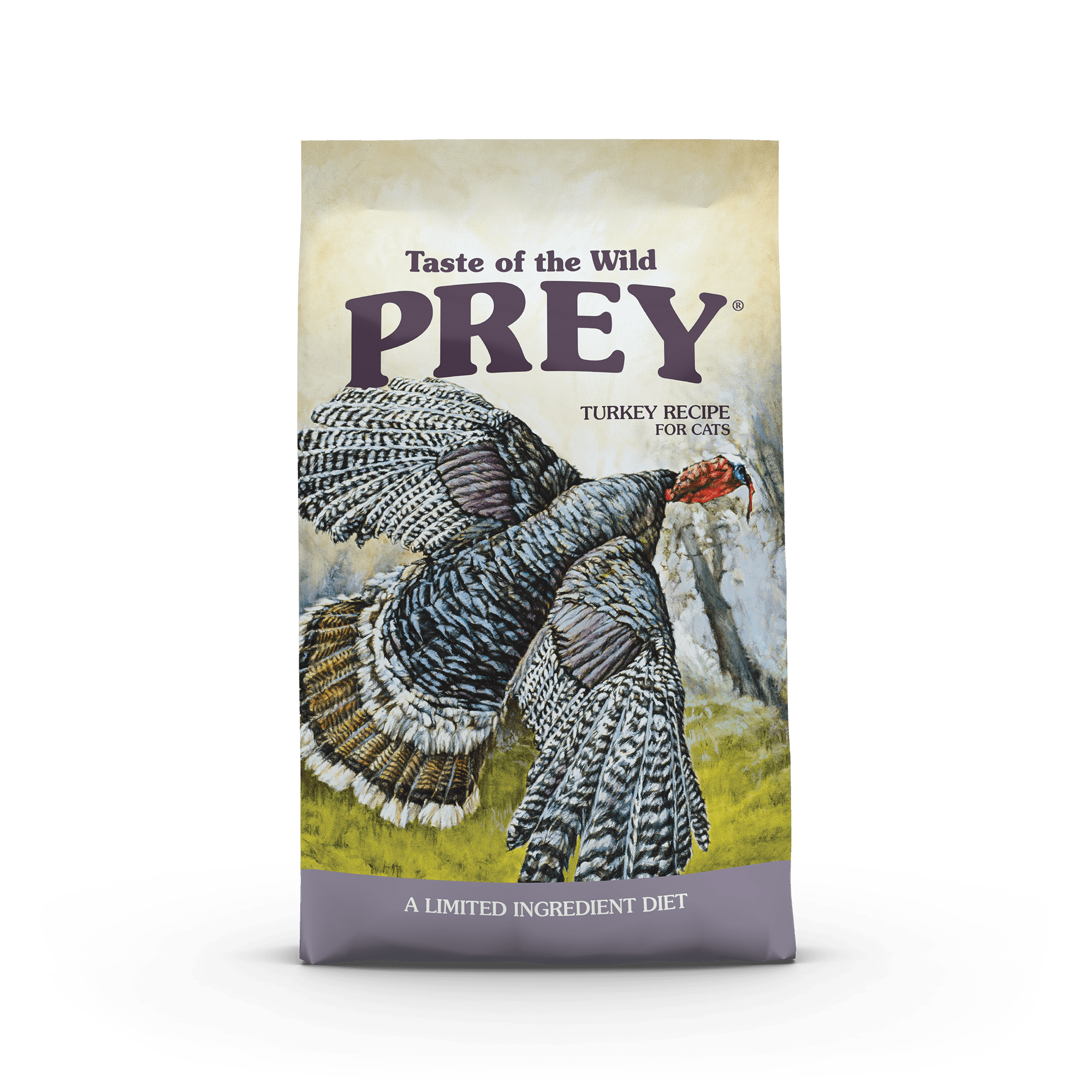 PREY Turkey Limited Ingredient Formula for Cats bag front