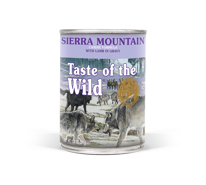 Sierra Mountain Canine Formula with Lamb in Gravy can front