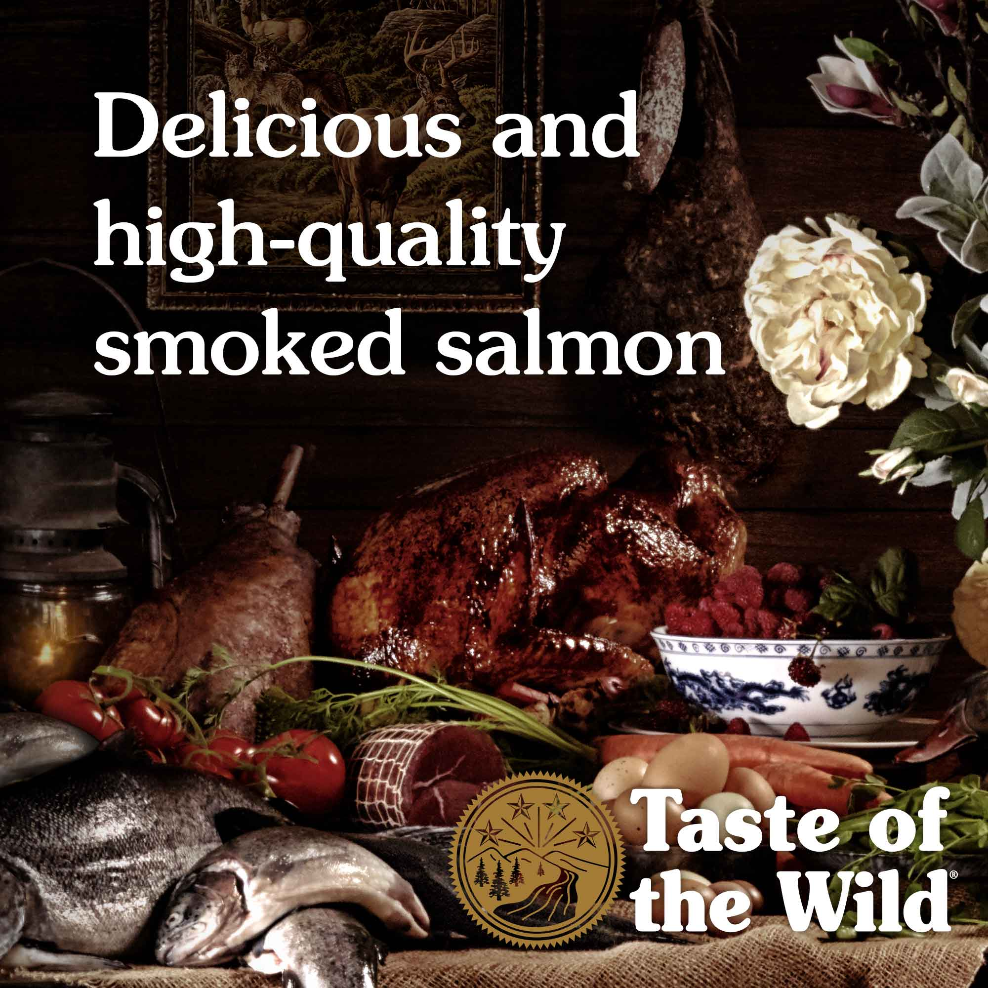 Delicious and high-quality smoked salmon