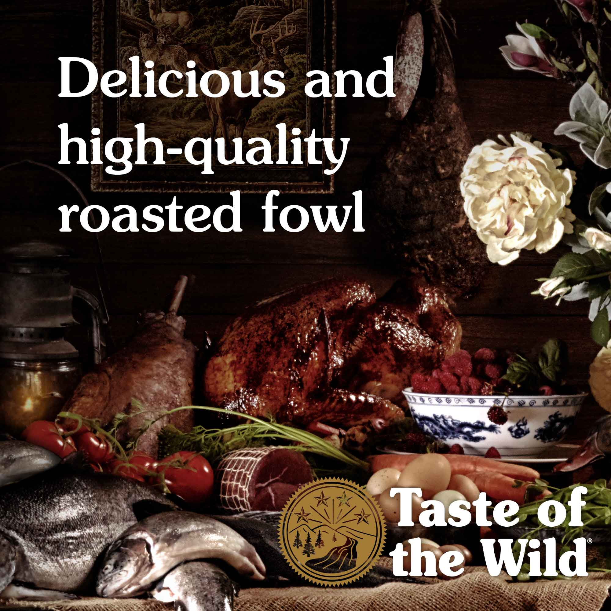 Delicious and high-quality roasted fowl