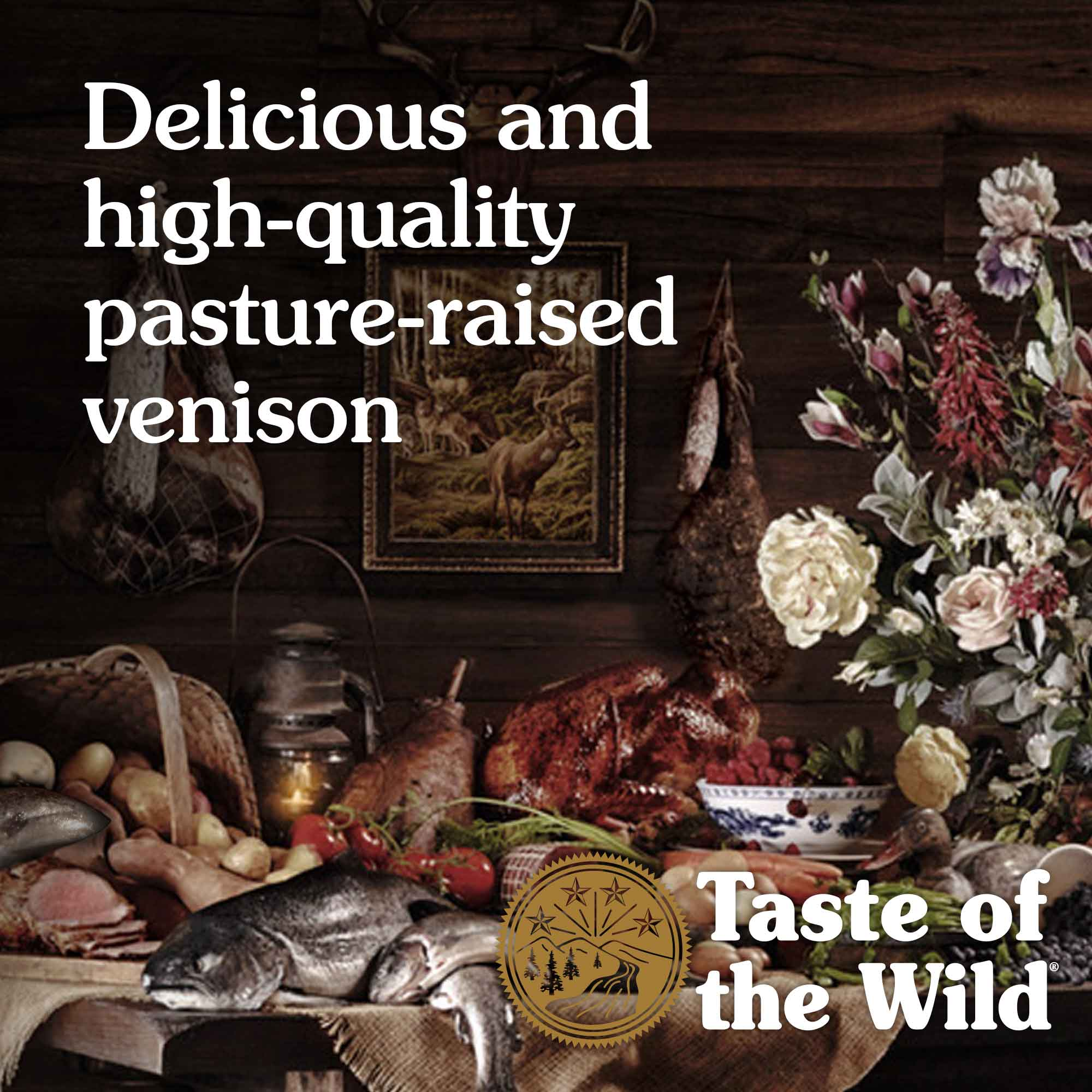 Delicious and high-quality pasture-raised venison