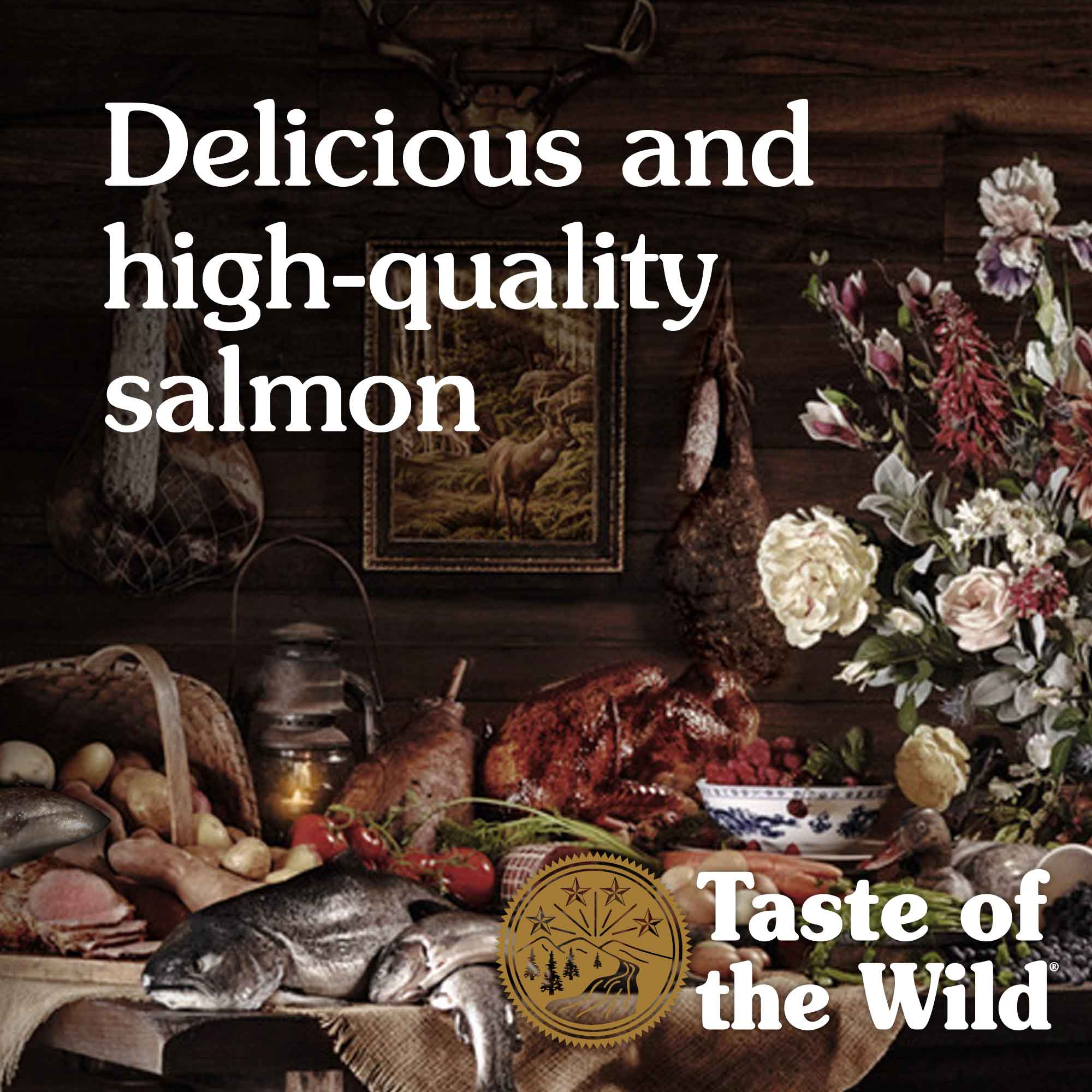 Delicious and high-quality salmon
