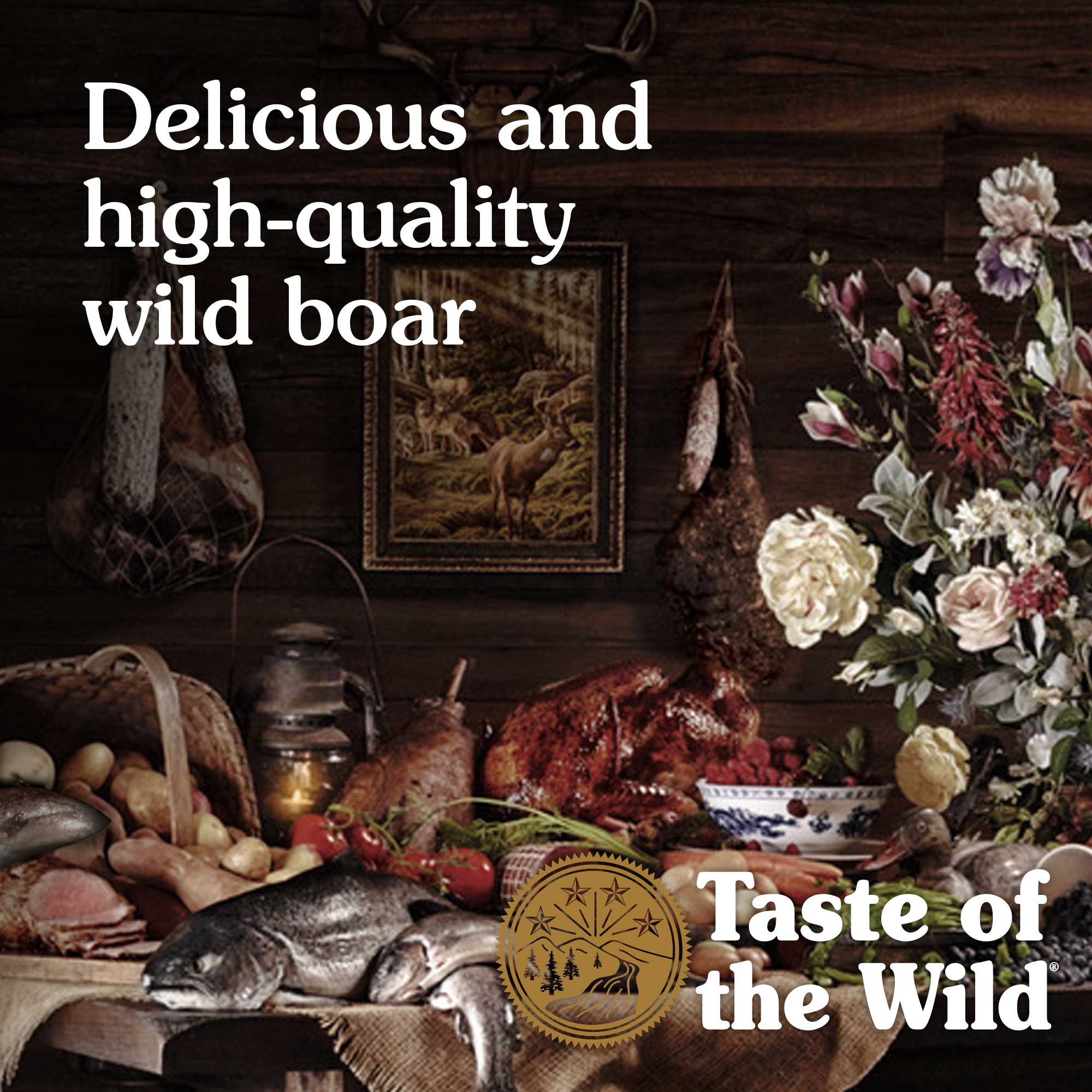 Delicious and high-quality wild boar