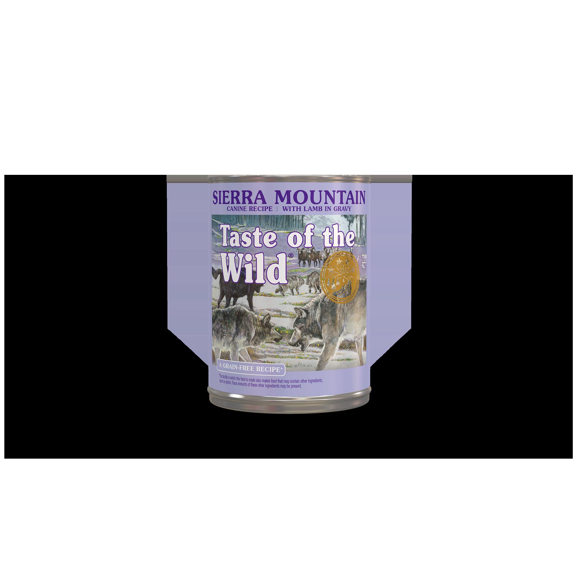 Taste of the Wild  Sierra Mountain Canine Recipe